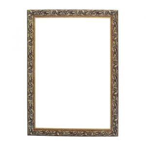 Рама для зеркал и картин из дерева, 40 х 60 х 4 см, цвет золотой