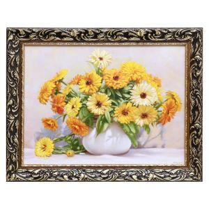 """Картина """"Желтые цветы"""" 47х37 см   4598999"""