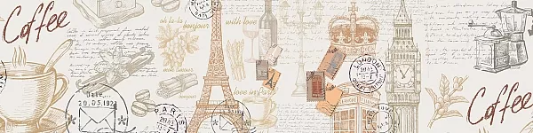 "Фартук для кухни ""Париж"""