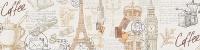 Фартук для кухни (стеновая панель) Париж