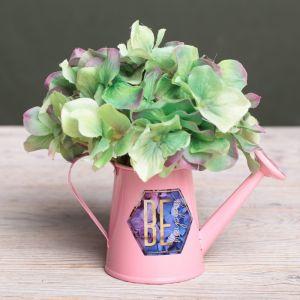 Металлическое кашпо для цветов Be happy, 15 ? 7 см