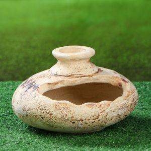 Садовая фигура ''Тыква'' амфора, шамот, 3,3 л