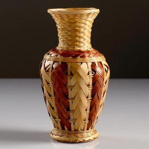 Кашпо «Ваза», 10?19 см, бамбук 4427908