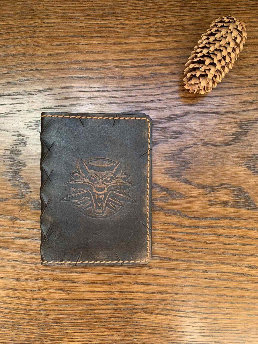 Обложка на паспорт и автодокументы Ведьмак