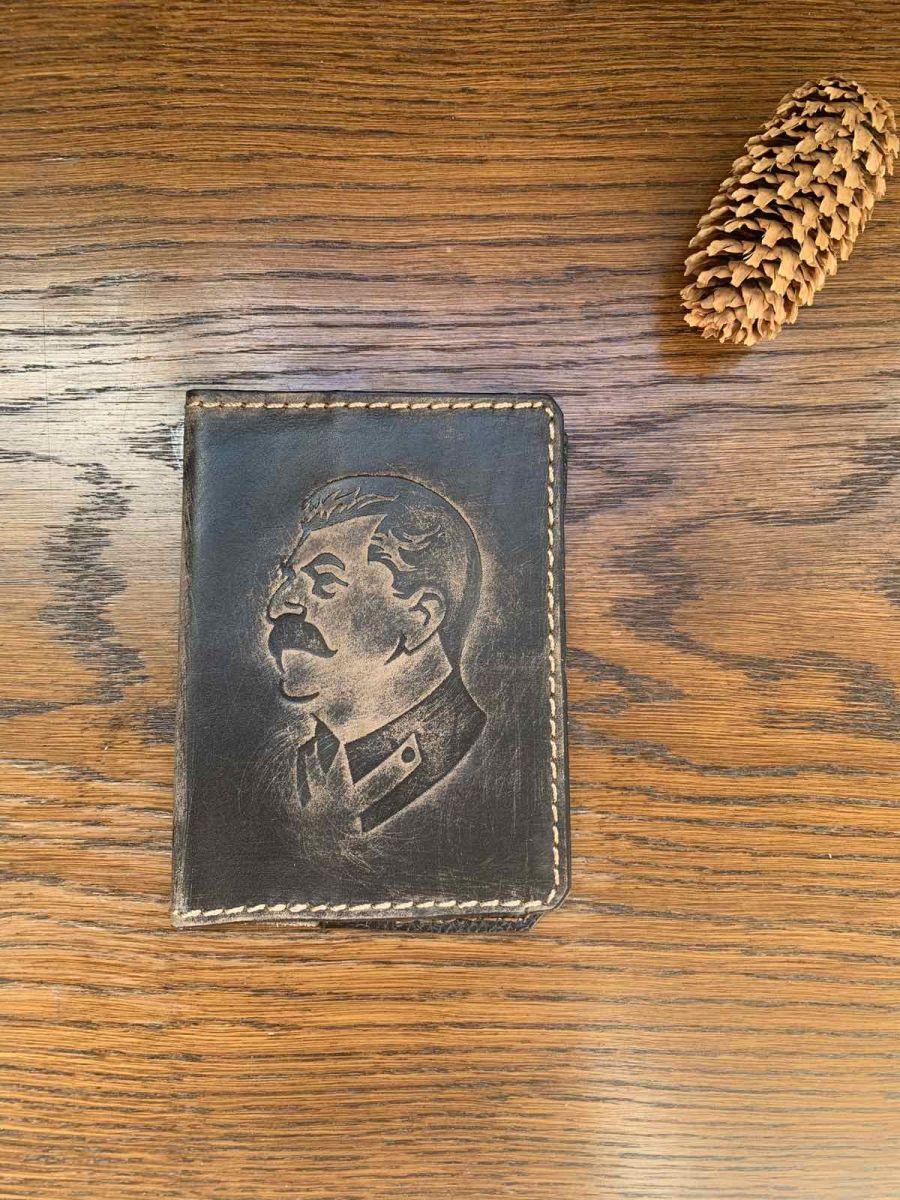 """Обложка на паспорт и автодокументы Товарищ """"Сталин"""""""