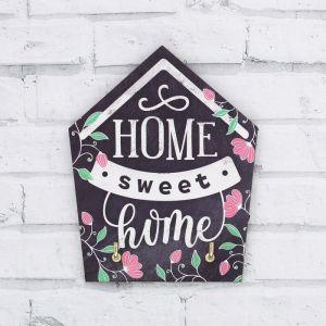 """Ключница на подложке """"Home sweet home"""", 9 * 12 см   4617274"""