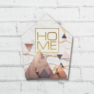 """Ключница на подложке """"Home"""", 9 * 12 см   4617273"""
