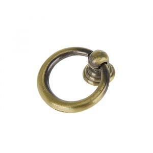 Ручка кнопка РК016AB, цвет бронза 3556905