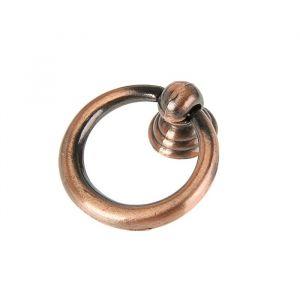 Ручка кнопка РК016AC, цвет медь 3556906