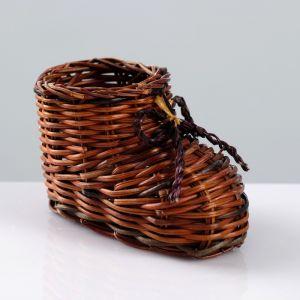 Сувенир «Ботинок», 10?7 см, лоза 4501523