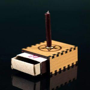 "Набор ларец желаний ""Очищение пространства"" со свечками, 5,2х4,5х2 см 2343117"