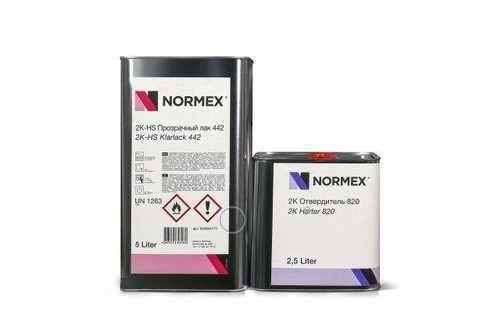 NORMEX 2К HS Прозрачный лак 442 5 л.