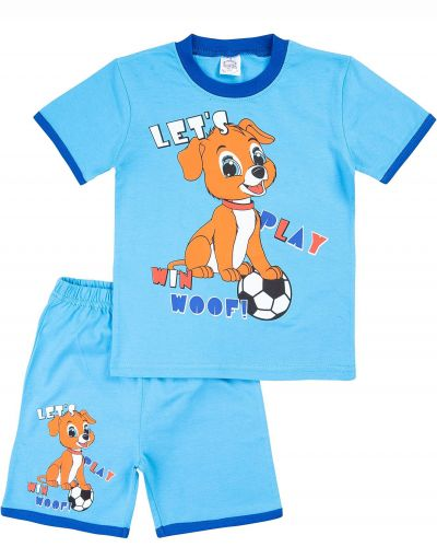 "Костюм для мальчика Bonito kids ""Little dog"" голубой"