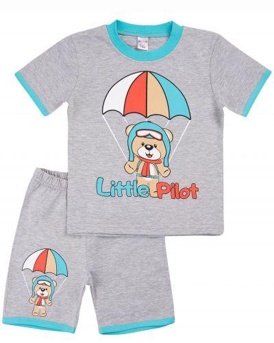 """Костюм для мальчика Bonito kids """"Little Pilot"""" меланж"""