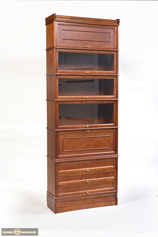 Стойка К 274 модульно-секционного книжного шкафа серии Кенигсберг-Люкс с мини-баром