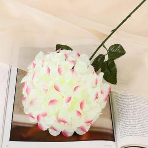 """Цветы искусственные """"Герань королевская"""", 16*60 см, бело-розовый   4560215"""