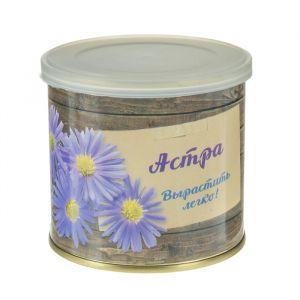 "Растущая травка ""Мини-цветок в банке ""Астра"" 3853717"