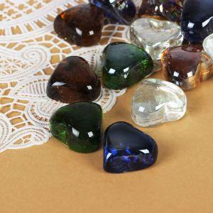 """Камень для декора """"Перламутровые сердечки"""" (250 г), микс"""