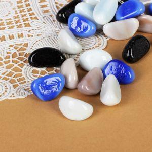 """Камень для декора """"Цветные овальчики"""" (250 г), микс"""
