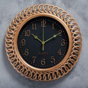 """Часы настенные, серия: Интерьер, """"Вайан"""", 25х25 см   4397569"""