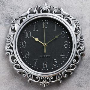 """Часы настенные, серия: Интерьер, """"Котаж"""", 26х25 см, дискретный ход, 4397568"""
