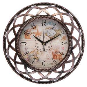 """Часы настенные, серия: Интерьер, """"Нотки прованса"""", d=30 см 3018346"""