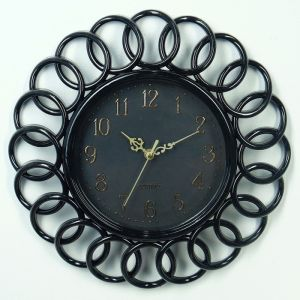 """Часы настенные, серия: Интерьер, """"Принцип"""", черные d=35 см 3620778"""