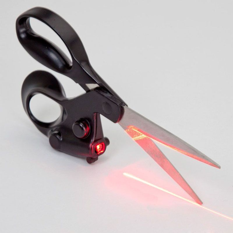 Ножницы с лазерным указателем Laser Scissors