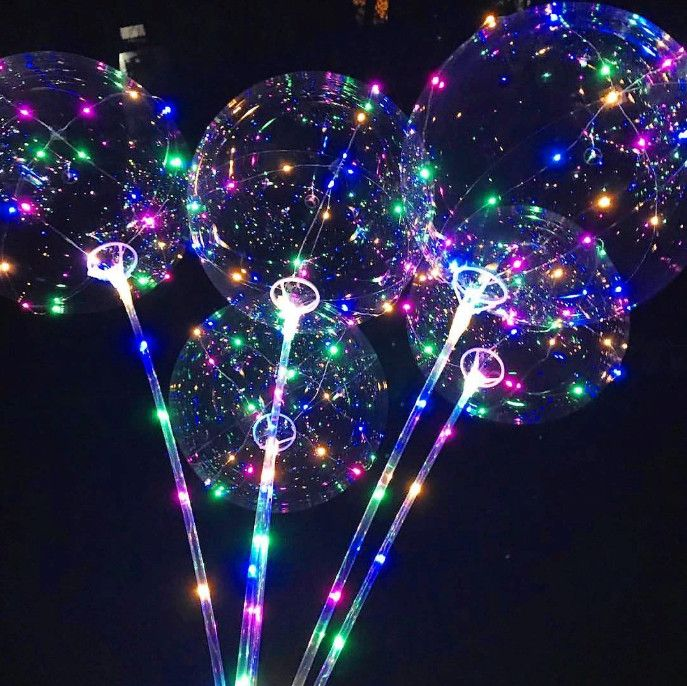 Светящийся led шар Bobo + Насос