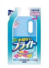 """Кислородный отбеливатель LION """"Bright"""" для деликатных тканей, 720 мл (запасной блок)"""