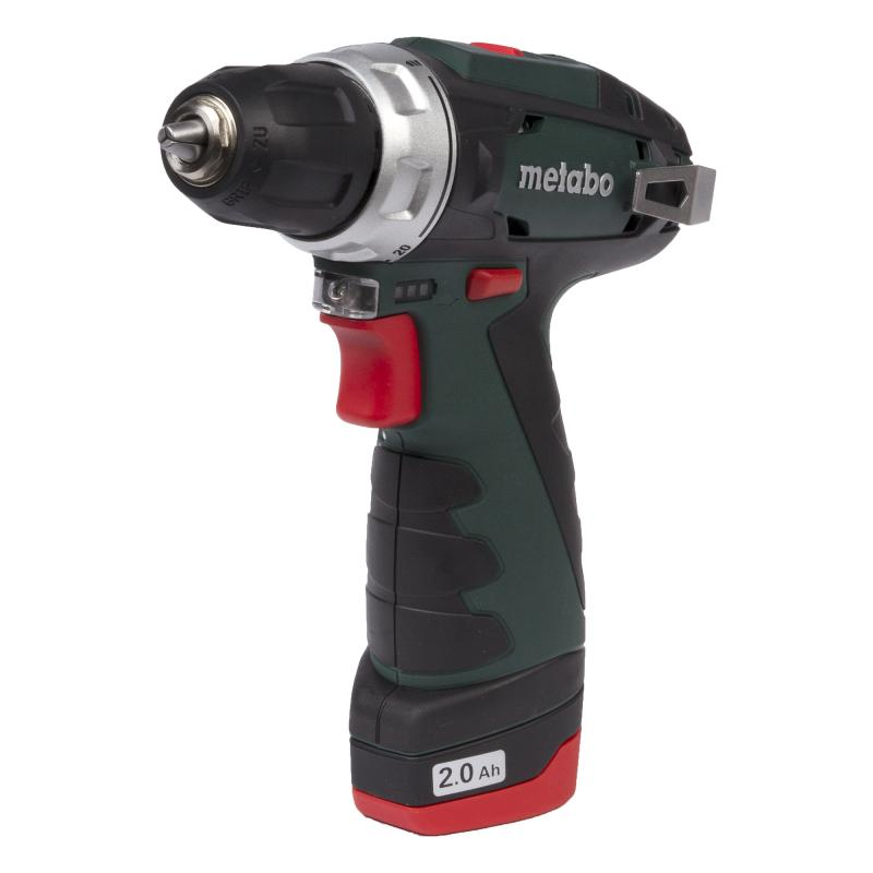 Дрель-шуруповерт Metabo PowerMaxx BS Basic 2.0Ah x3 Case (600080960)