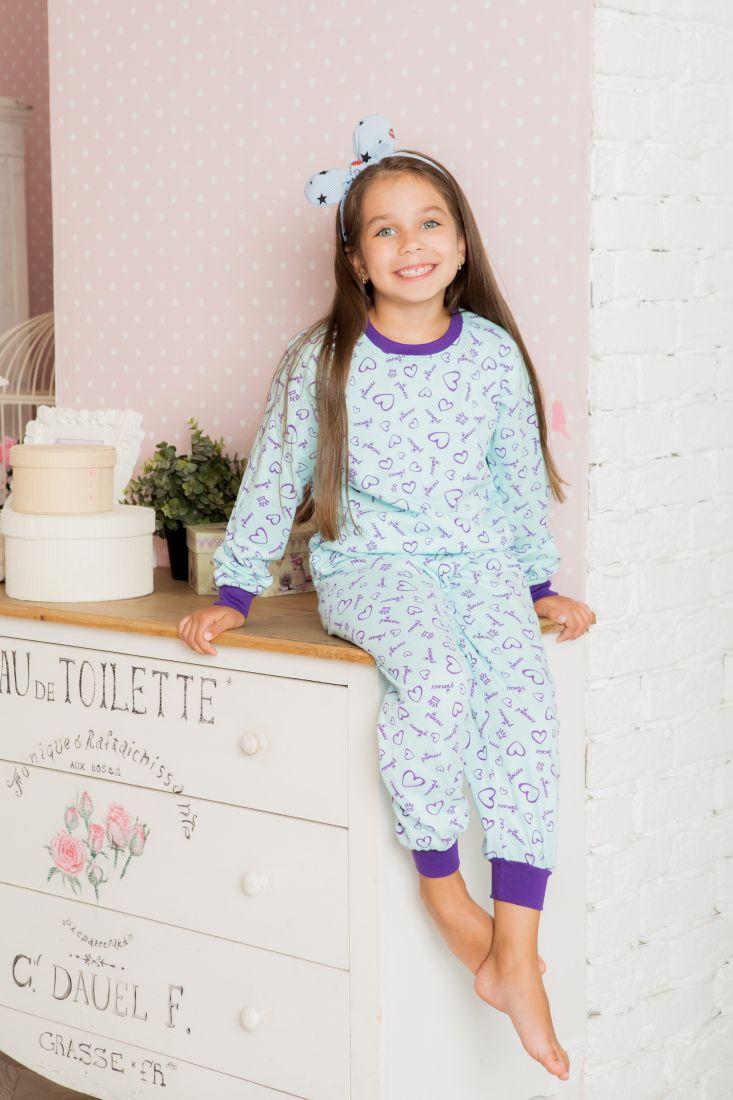 Теплая пижама для девочки Принцесса