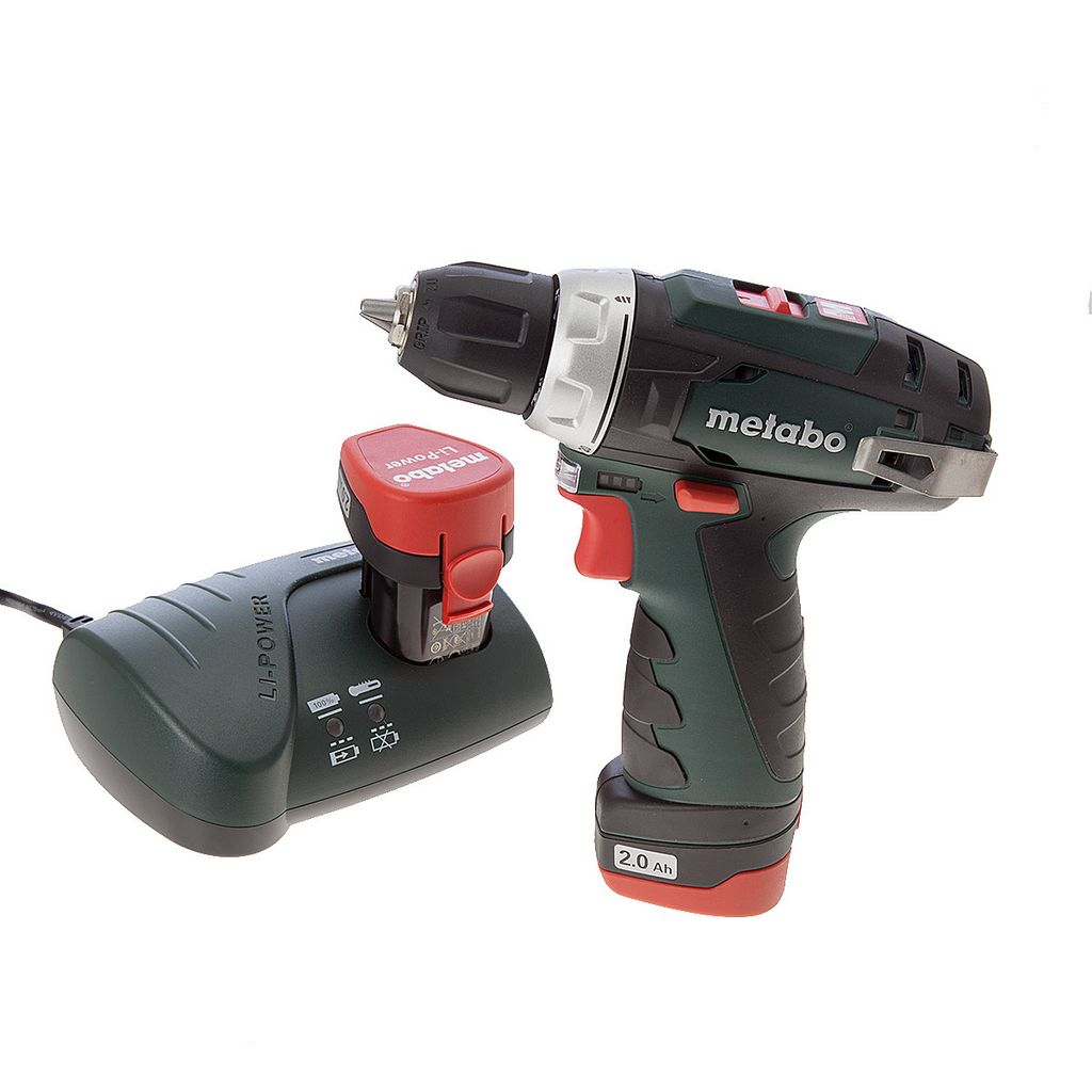 Дрель-шуруповерт Metabo PowerMaxx BS Basic 2.0Ah x2 Case Set (600080880)