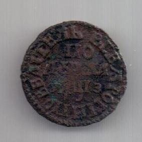 полушка 1707 г. Петр I
