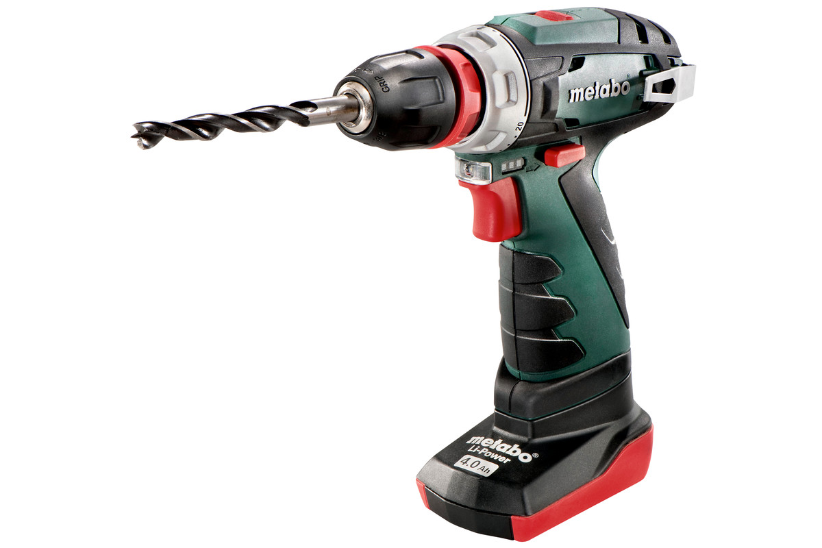 Дрель-шуруповерт Metabo PowerMaxx BS Quick Pro 2.0Ah x1 + 4.0Ah x1 Case Set (600157880)