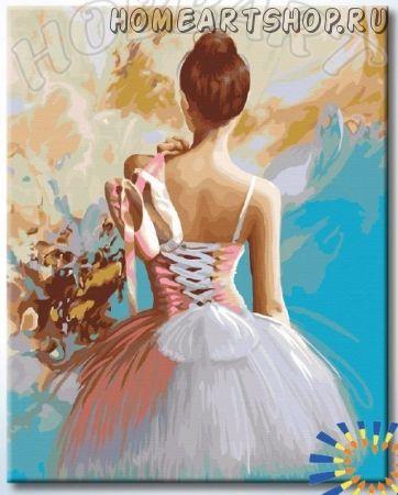 """Картина по номерам """"Жизнь в танце"""""""