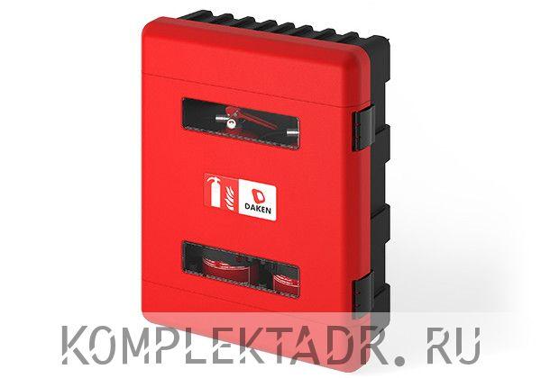 Пенал для двух огнетушителей по 6 кг (Арт: 70011DD)