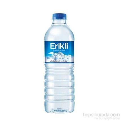 Erikli qazsız su 0.5 plastik