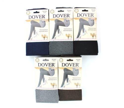 Женские колготки тёплые, шерсть-кашемир Dover 42-54 DV604С