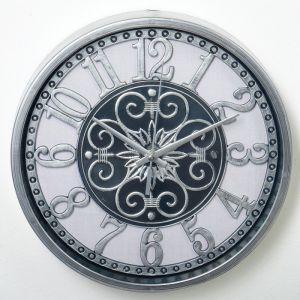 """Часы настенные, серия: Интерьер, """"Таско"""", d=25 см, дискретный ход  3620791"""