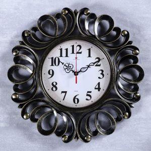 """Часы настенные, серия: Классика, """"Вермонт"""", черное золото, 45.5 см   4551252"""