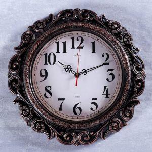 """Часы настенные, серия: Классика, """"Витсанд"""", черная бронза, 40.5 см   4551247"""