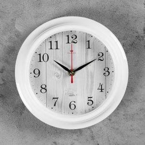 """Часы настенные """"Белое дерево"""", """"Рубин"""", 21х21 см 2566676"""