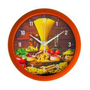 "Часы настенные, серия: Кухня, ""Спагетти"", 28х28 см 2436864"