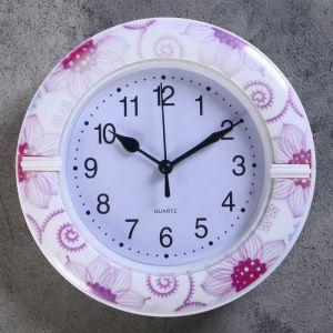 """Часы настенные, серия: Классика, """"Бруннера"""", d=19 см, микс   4156408"""