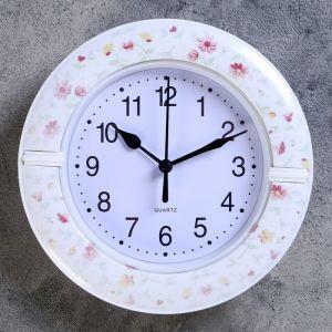 """Часы настенные, серия: Классика, """"Массив"""", d=19 см , микс  4156405"""