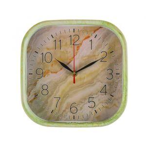 """Часы настенные, серия: Классика, """"Оникс"""", квадратные, 22х22 см 3620976"""