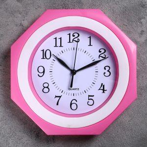 """Часы настенные, серия: Классика, """"Пира"""" 23х23 см, дискретный ход, микс  1208443"""