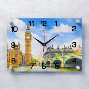"""Часы настенные, серия: Город, """"Биг-Бен"""", 25х35  см, микс 1409248"""