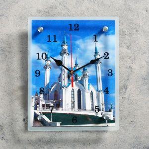 """Часы настенные, серия: Город, """"Мечеть Кул Шариф"""", 20х25  см, микс 1639456"""